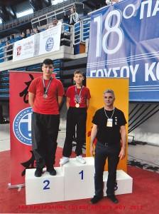 Μετάλια 18 Πανελλήνιο πρωτάθλημα
