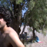 Yannis on the beach